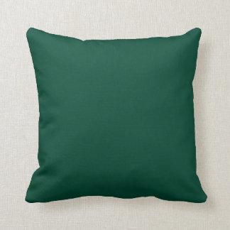 Estallido sólido de Forest Green del color Cojín