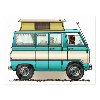 Estallido Van superior Camper Postales