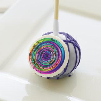 estallidos cibernéticos de la torta del arco iris