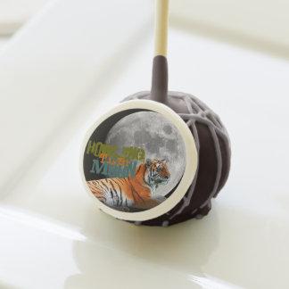 Estallidos de la torta de la luna del tigre del gr