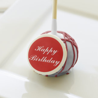 Estallidos de la torta del feliz cumpleaños