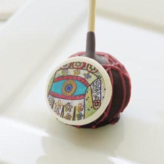 Estallidos de la torta - flor de marfil Hamsa II