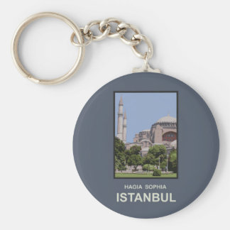Estambul Hagia Sophia Llavero Redondo Tipo Pin