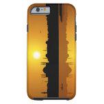 Estambul y puesta del sol funda para iPhone 6 tough