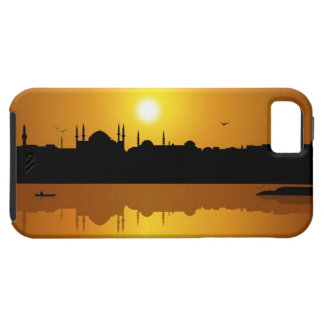 Estambul y puesta del sol funda para iPhone 5 tough