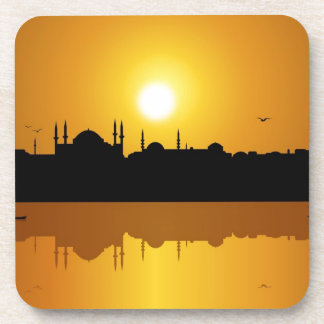 Estambul y Sunset.jpg Posavasos De Bebida
