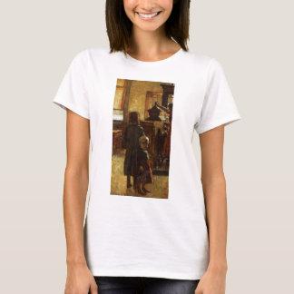 Estaminet - Flemish Tavern 1884 by Lesser Ury T-Shirt
