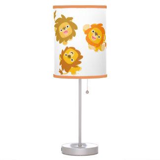 """¡""""Estamos aquí!! """"Lámpara de mesa linda de los leo Lámpara De Mesa"""