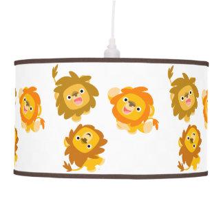 """¡""""Estamos aquí!! """"Lámpara pendiente de los leones  Lámpara De Techo"""