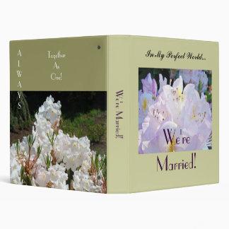 """¡Estamos casados! Flor blanca de Rhodies de la Carpeta 1"""""""