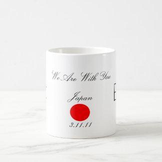 Estamos con usted, Japón Tazas De Café