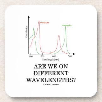 ¿Estamos en diversas longitudes de onda? Posavasos