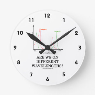 ¿Estamos en diversas longitudes de onda? Reloj Redondo Mediano