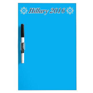 ¡Estamos listos para Hillary Clinton 2016! ☺︎☺︎☺︎ Pizarras Blancas De Calidad