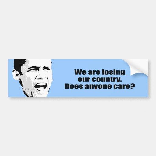 Estamos perdiendo nuestro país - hace cualquier pe pegatina para auto