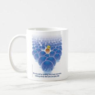 Estamos pidiendo agradable… taza de café