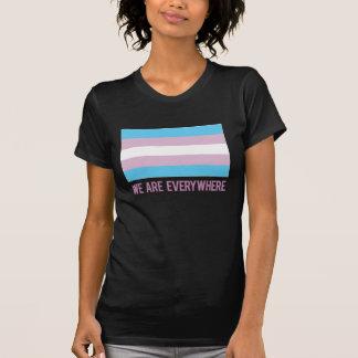 Estamos por todas partes camisa (el transexual)