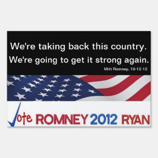 Estamos retirando esta muestra de Romney del país