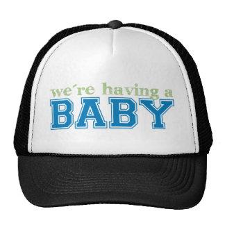 ¡Estamos teniendo un bebé! Gorro De Camionero