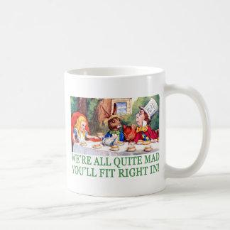 ¡Estamos TODO EL MUY ENOJADOS USTED FIT A LA DERE Tazas De Café
