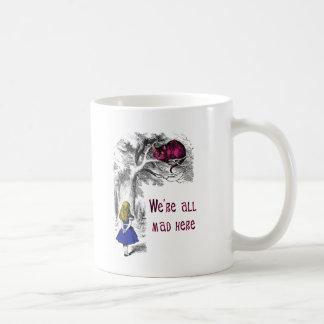Estamos todos enojados aquí tazas de café