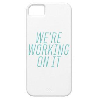 Estamos trabajando en él el caso del iPhone iPhone 5 Carcasa