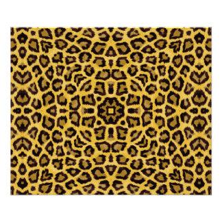 Estampado de animales abstracto del guepardo del cojinete