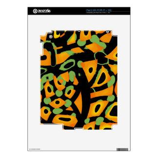 Estampado de animales abstracto iPad 2 calcomanía