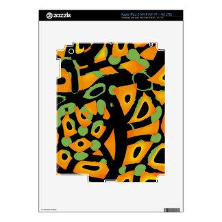 Estampado de animales abstracto iPad 3 pegatina skin