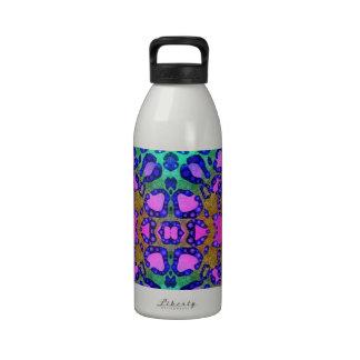 Estampado de animales botellas de agua reutilizables