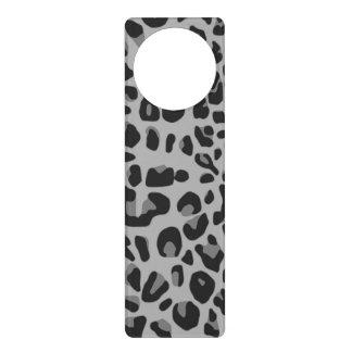 Estampado de animales blanco negro abstracto del colgante para puerta