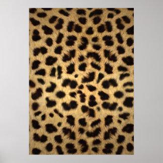 Estampado de animales de Jaguar Póster
