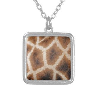 Estampado de animales de la jirafa joyerias