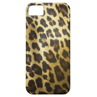 Estampado de animales de la piel del leopardo iPhone 5 cobertura