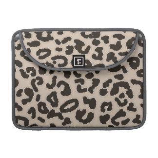 Estampado de animales del leopardo del color de la funda macbook pro