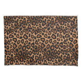 Estampado de animales del leopardo en Brown Funda De Cojín