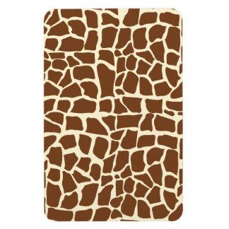 Estampado de animales del modelo de la jirafa imanes de vinilo