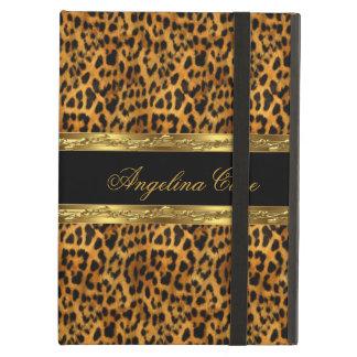 Estampado de animales elegante del leopardo del ne