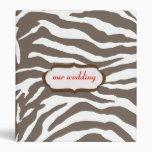 Estampado de animales, estampado de zebra marrón