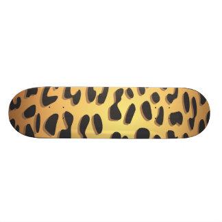 Estampado de animales, guepardo manchado - patín