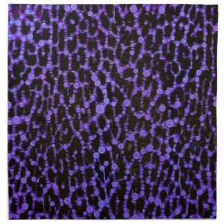 Estampado de animales hermoso loco servilletas imprimidas
