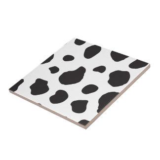 Estampado de animales (impresión) de la vaca, azulejos