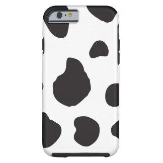 Estampado de animales (impresión) de la vaca, funda de iPhone 6 tough