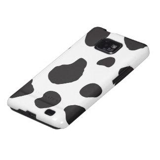 Estampado de animales (impresión) de la vaca, galaxy SII carcasas