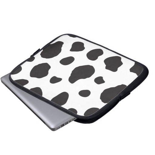 Estampado de animales (impresión) de la vaca, fundas computadoras