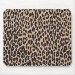 Estampado de animales, leopardo manchado - negro d