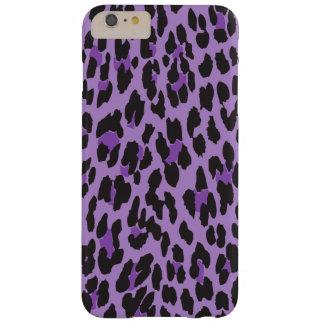 Estampado de animales leopardo manchado - negro