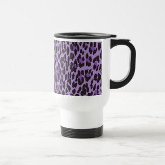 Estampado de animales leopardo manchado - negro p