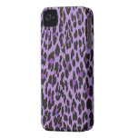 Estampado de animales, leopardo manchado - negro p