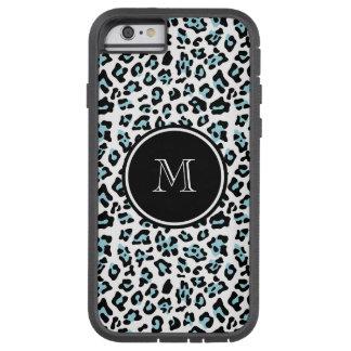 Estampado de animales negro del leopardo de la funda de iPhone 6 tough xtreme